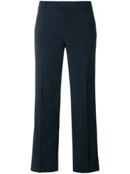 Red Valentino Skinny Trousers Blue