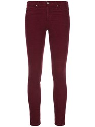 Ag Jeans Skinny Ankle Red