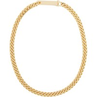 Saskia Diez Gold Grand Identity Narrow Choker