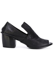 Marsell Open Toe Heeled Sandals Women Leather 39 Black
