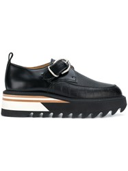 Hender Scheme Platform Monk Shoes Black