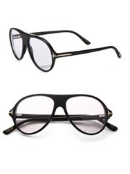 Tom Ford Private Collection N.1 Round Optical Glasses Black Smoke