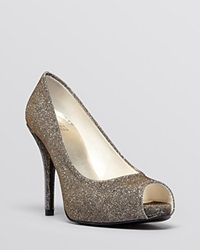 Stuart Weitzman Peep Toe Platform Evening Pumps Evebaton High Heel