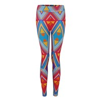 Sarah And Sorrentino Turquoise Dala Dala Leggings