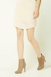 Forever 21 Chevron Sheer Tights Nude