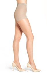 Nordstrom Plus Size Women's 'Ultra Sheer' Control Top Pantyhose Medium Nude