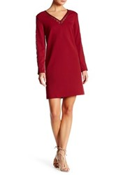 Donna Ricco Embroidered Sheath Dress