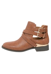 Lipsy Rebecca Ankle Boots Tan