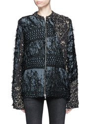 By Walid 'Men's Classic' One Of A Kind Ecclesiastical Embroidery Jacket Metallic Multi Colour