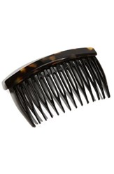 France Luxe Side Comb Brown Tokyo