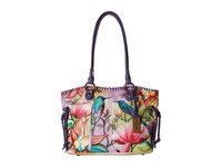 Anuschka Handbags 569 Large Drawstring Shopper Spring Passion Handbags Multi