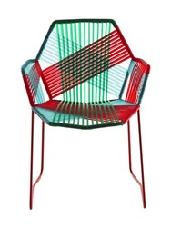 Moroso Tropicalia Chair With Armrests Red Green