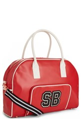 Sweaty Betty Bowler Bag Red Scarlet Red