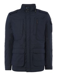 Duck And Cover Men's Radical Contemporary Field Jacket Navy