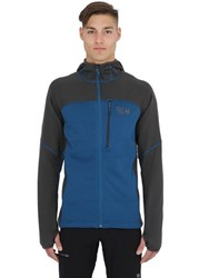 Mountain Hardwear Desna Grid Hooded Nylon Fleece Jacket
