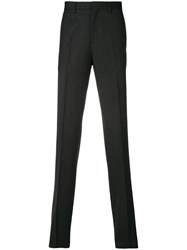 Salvatore Ferragamo Single Pleat Trousers Grey