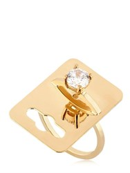 Maria Francesca Pepe The Bling Ring Tag Ring