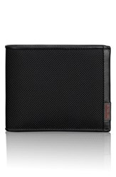Tumi Men's 'Alpha Global Id Lock Tm ' Wallet With Removable Passcase Black