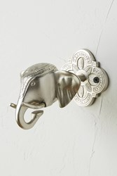 Anthropologie Royal Elephant Tieback Silver