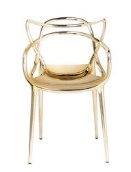 Kartell Precious Masters Arm Chair Set Of 2