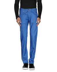 Armani Collezioni Denim Denim Trousers Men Bright Blue