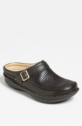 Alegria 'Chairman' Slip On Chocolate Woven