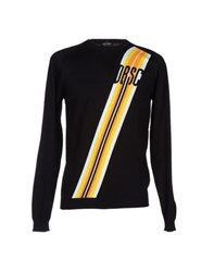 Dirk Bikkembergs Sport Couture Knitwear Jumpers Men Black