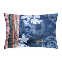 Desigual Exotic Jeans Pillowcase 50X80cm