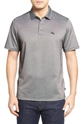 Tommy Bahama Men's On Par Spectator Polo Black
