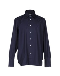 Giampaolo Shirts Dark Blue