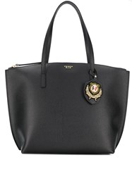 Tosca Blu Logo Shopper Tote Black