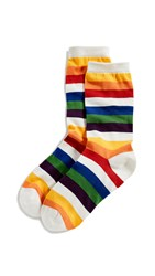 Marc Jacobs The Rainbow Socks Rainbow Multi