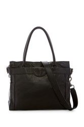 Liebeskind Glory Collapsible Leather Tote Black