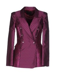 Class Roberto Cavalli Suits And Jackets Blazers Women Purple