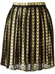 Dodo Bar Or Short Pleated Skirt Black