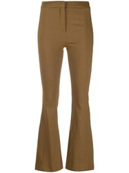 Alysi Flared Slim Fit Trousers 60