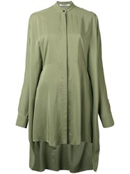 Chalayan Handkerchief Tunic Shirt Green