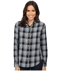 Joe's Jeans Rosen Shirt Anthracite Plaid Women's Clothing Multi