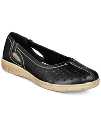 Easy Street Shoes Tobago Flats Women's Black