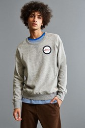 Deus Ex Machina Pilot Crew Neck Sweatshirt Grey