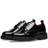 Ami Alexandre Mattiussi Leather Derby Shoe Black