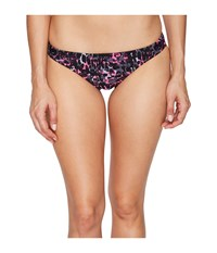 Speedo Print Bikini Bottom Power Pink Women's Swimwear