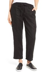 Eileen Fisher Women's Linen Cargo Pants