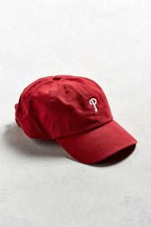 47 Brand '47 Philadelphia Micro Logo Baseball Hat Red