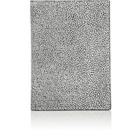 Barneys New York Men's Passport Case White