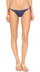 Sofia By Vix Denim Tie Side Bikini Bottoms
