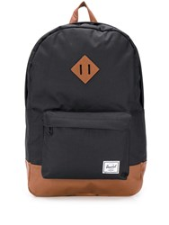 Herschel Supply Co. Heritage Colour Block Backpack Black