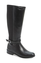 Vaneli 'Renate' Tall Boot Women Wide Calf Black Nappa