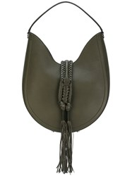 Altuzarra Ghianda Hobo Bag Women Leather One Size Green