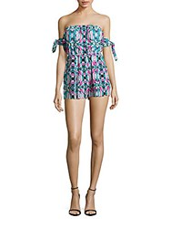6 Shore Road Pelican Short Jumpsuit Blue